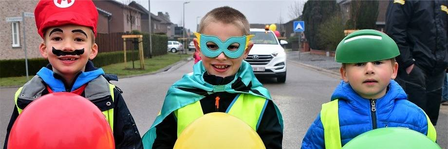 Carnaval wijkschool Jan Rosier
